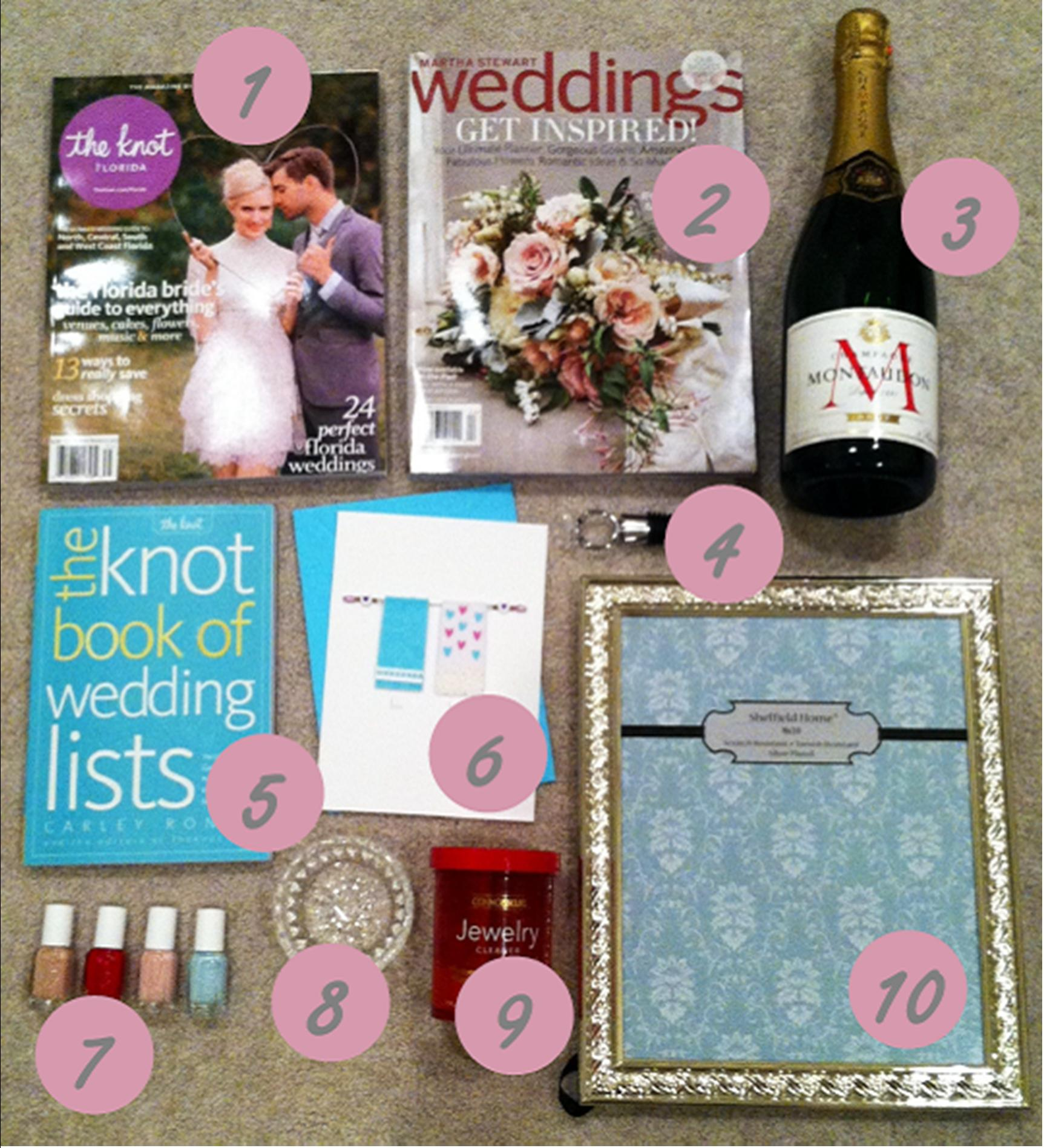 Wedding Gift Ideas For Bride From Friends : to the ring and what s essential for wedding planning
