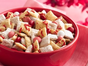 V-day Chex Mix